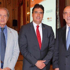 Rodolfo Dietl (CCSA), Hanspeter Mock (Embajador De Suiza) Y Ricardo Arriazu (ARRIAZU & ASOC.)