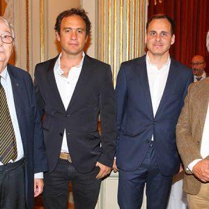 Marcos Bertin, Bruno Emmer (RDR), Facundo Morando (RDR) Y Claudio Bertin