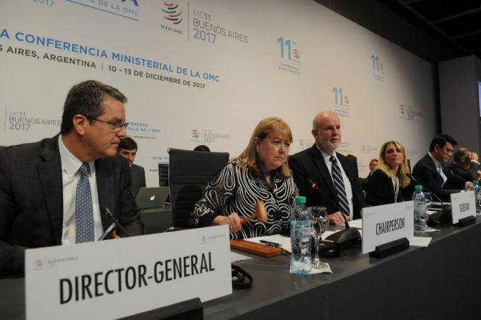 La OMC debatió en Buenos Aires las políticas económicas para 2018