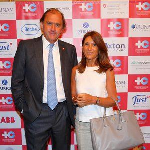 Edgardo Padinger Y Su Esposa
