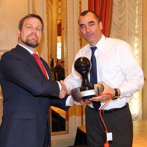 Martín Casazza (ZURICH) Y Ramón Vega (NESTLÉ)