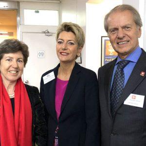 Kathy Riklin (EFTA), Karin Keller-Sutter (EFTA) Y Rodolfo Dietl (CCSA)