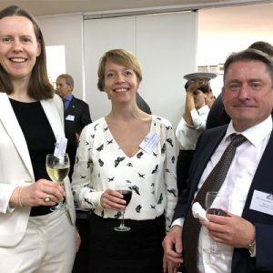 Margrethe Saxegaard, Camilla Langsholt (EFTA) Y Christopher Navelsaker (EFTA)