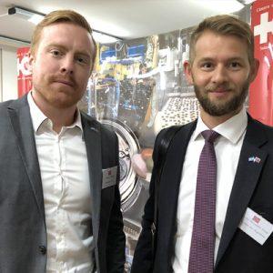 Robert Haugen (Estremar) Y Kjetil Alexander Torpp (Norwegian Air Argentina)