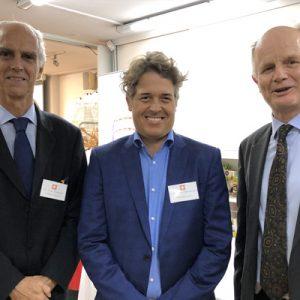 10 Jorge Fassbind (CCSA), Facundo Mendizabal (Parallel), Arnaldo Hasenclever (Grant Thornton Argentina)