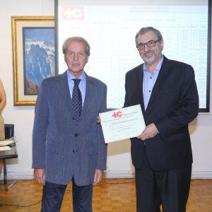 Rodolfo Dietl Presidente (CCSA) Y Ernesto Kohen (Chronex)