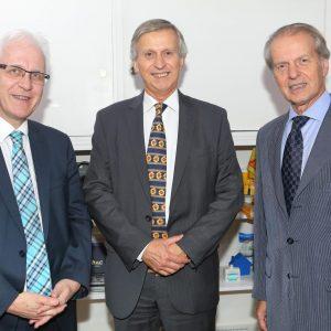 Daniel Grünenfelder (EDA GRD), Jorge Dietl (KPMG) Y Rodolfo Dietl (CCSA)