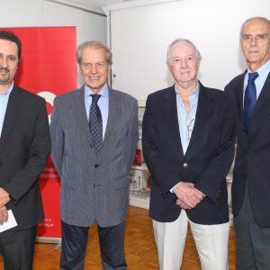 Diego Disabato (Swiss Int. Airlines), Rodolfo Dietl (CCSA), Rodolfo Koennecke Y Jorge Fassbind (CCSA)