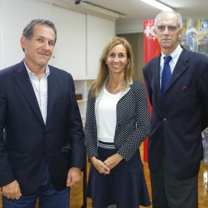 Diego Zbar (Bridgelink), Verónica Morano Y Jorge Fassbind (CCSA)