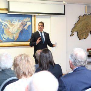 Embajador Hanspeter Mock