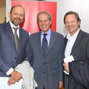 Fabian Von Brocke (JUST), Rodolfo Dietl Y Ricardo Studer (CCSA)