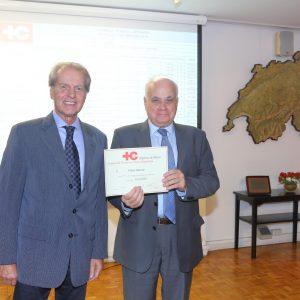 Rodolfo Dietl (CCSA) Y Ubaldo Aguirre (Permasur)