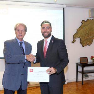 Rodolfo Dietl (CCSA) Y Juan Manuel Perez Naufel (ABB)