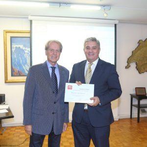 Rodolfo Dietl (CCSA) Y Leandro Bel (Nestlé Argentina)