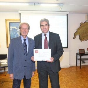 Rodolfo Dietl (CCSA) Y Victor Rodríguez (Novartis)