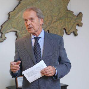 Rodolfo Dietl Presidente De La Cámara Suiza
