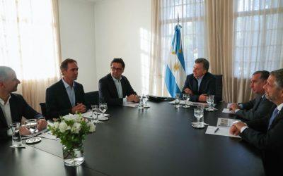 El Presidente Macri recibió al CEO mundial de Novartis