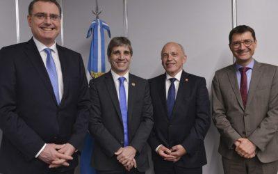 El Ministro de Finanzas suizo visitó Argentina