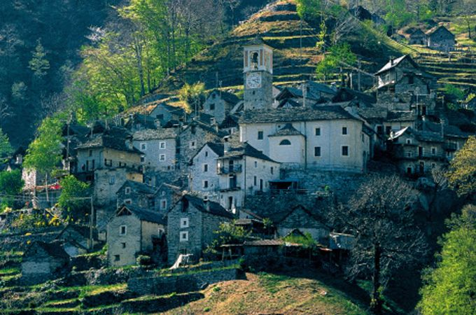 Un pueblo de Suiza se transforma en un hotel