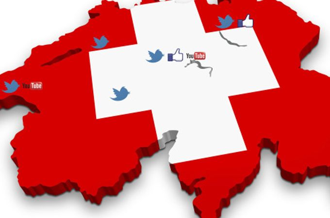 ¿Cuáles son las redes sociales más populares de Suiza?
