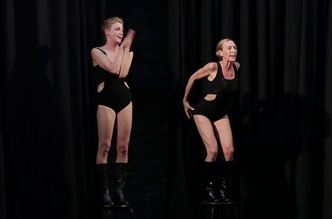The Festival Of Contemporary Dance Was Held In Buenos Aires
