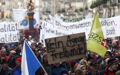 ONG suizas contra el acuerdo de libre comercio con el Mercosur