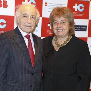 Alfonso Freyvogel (CCSA) , Magdalena Brennan (Maxinta)