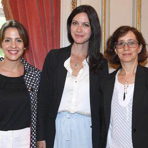 Ayelen María Ghersi (Cancillería), Guadalupe Appleyard (Own Hoteles), Claudia Rey (Ministerio De Producción)