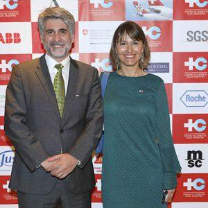 C. Schilling (Clariant Argentina), C. Dibárbora (CCSA)