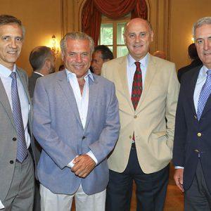 Cristian Siccardi, Alejandro Serrat, Kurt Zweifel(La Maria Luisa) Federico Ruiz Guiñazu