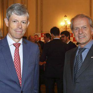 Embajador Heinrich Schellenberg, Rodolfo Dietl (Presidente CCSA)