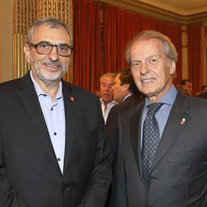 Ernesto Kohen (Chronex), Rodolfo Dietl (CCSA)