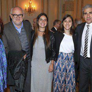 Fabiana Dircie (Novartis), Sergio Volman (Novartis), Bárbara Gutierrez (Novartis), Clara Loureiro (Novartis), Víctor Rodríguez (Novartis)