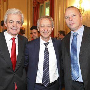 Fernando López (Buhler), Alejandro Lentz (Embajada Suiza En Arg), Fabian Tischler (Buhler)