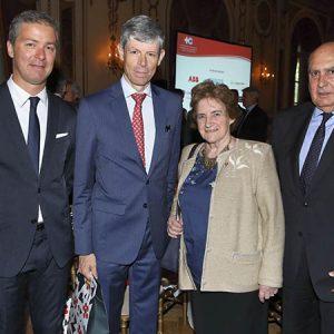 Gonzalo González Albarracin (López Fleybi), Embajador Heinrich Schellenberg, Haydée Feybli, Humberto Lopez.