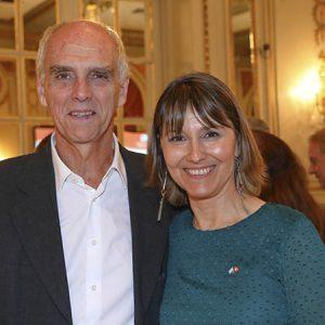 Jorge Fassbind (CCSA), Cecilia Dibárbora (CCSA)