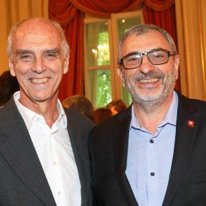 Jorge Fassbind (CCSSA), Ernesto Kohen (Chronex)
