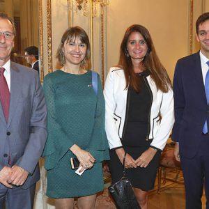 José De Paiva (ABB) , Cecilia Dibárbora (CCSA), Giselle Somale (ABB) Santiago Oliva Pinto (Rattagan Macchiavello Arocena Abogados)