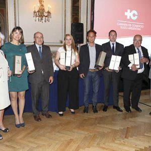 Kathrin Holzach (CCSA), C. Dibárbora (CCSA), T. Carrizo (Rolex), C. Carballo (Gate Gourmet), Bruno Emmer (RDR Arquitectos), Juan José Cavallari, Ricardo Tischner (Firmenich)