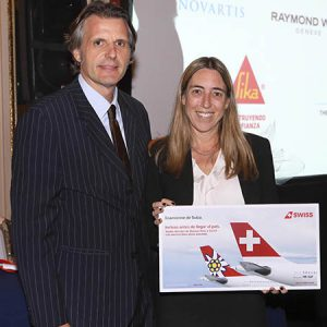 Luis Monreal (Grupo Lufthansa), Alexia Rosenthal (Tanoira Cassagne Abogados)