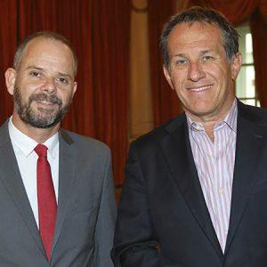 Mariano Alfonso (Own Hoteles), Diego Zbar (Bridgelink AG)