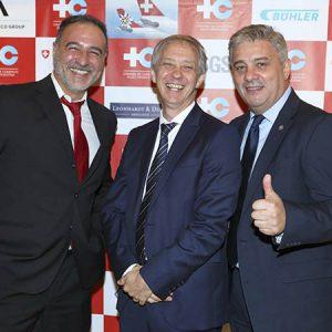 Pablo Manrique (Nestlé Argentina), A. Lentz (Embajada De Suiza En Argentina), L. Bel (Nestlé Argentina)
