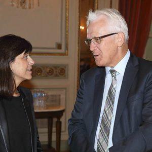 Patricia Pacheco (Zurich Argentina), Daniel Grünenfelder (Embajada Suiza En Argentina)