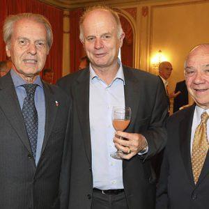 Rodolfo Dietl (CCSA), Arnaldo Hasenclever, Fernando Villegas (Grant Thornton)