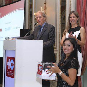 Rodolfo Dietl (Pte CCSA), Verónica Kirschmann, Erica Palomeque (CCSA)
