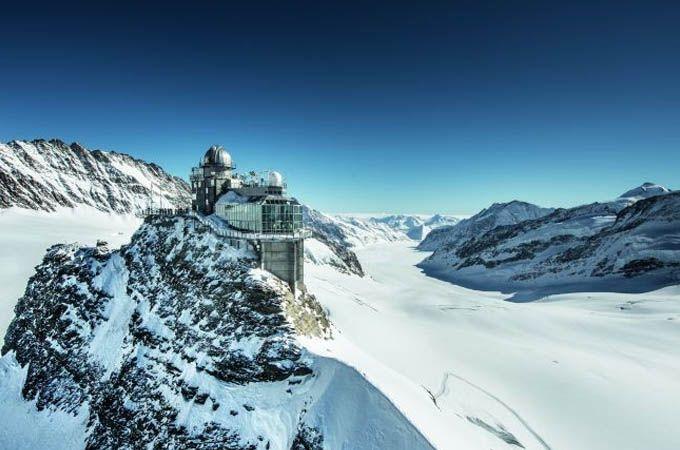 Reconocimientos para la estación del Jungfraujoch
