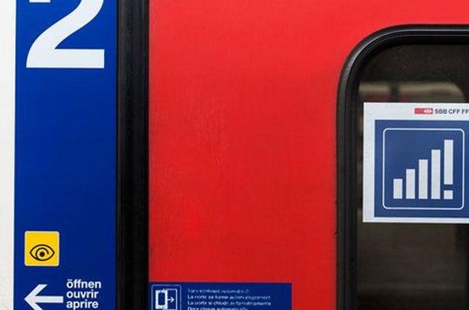 Wifi gratis en los trenes suizos