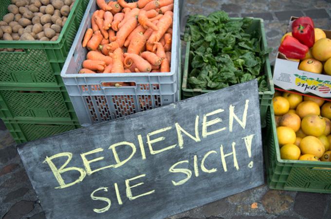 Suiza busca aprovechar los alimentos