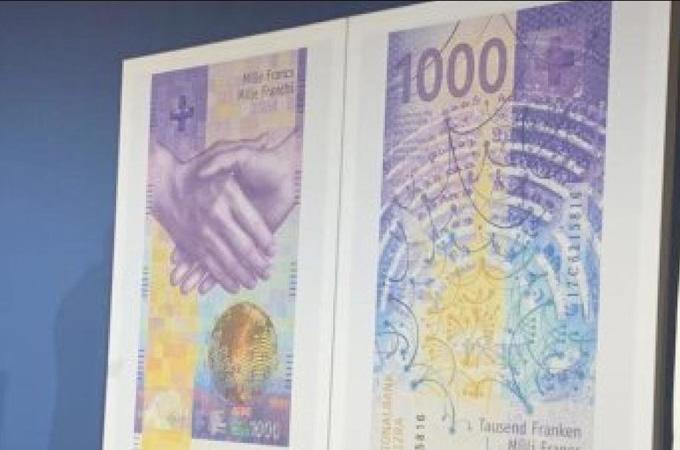 Un nuevo billete de mil francos