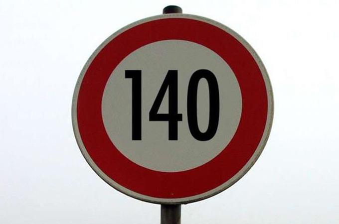 No A 140 Km/h Como Velocidad Máxima